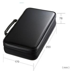 Image 3 - ymjywl CD Case Blu ray Disc Box Shockproof CD Bag 96 Discs Capacity For Car Travel Storage Equipment Box
