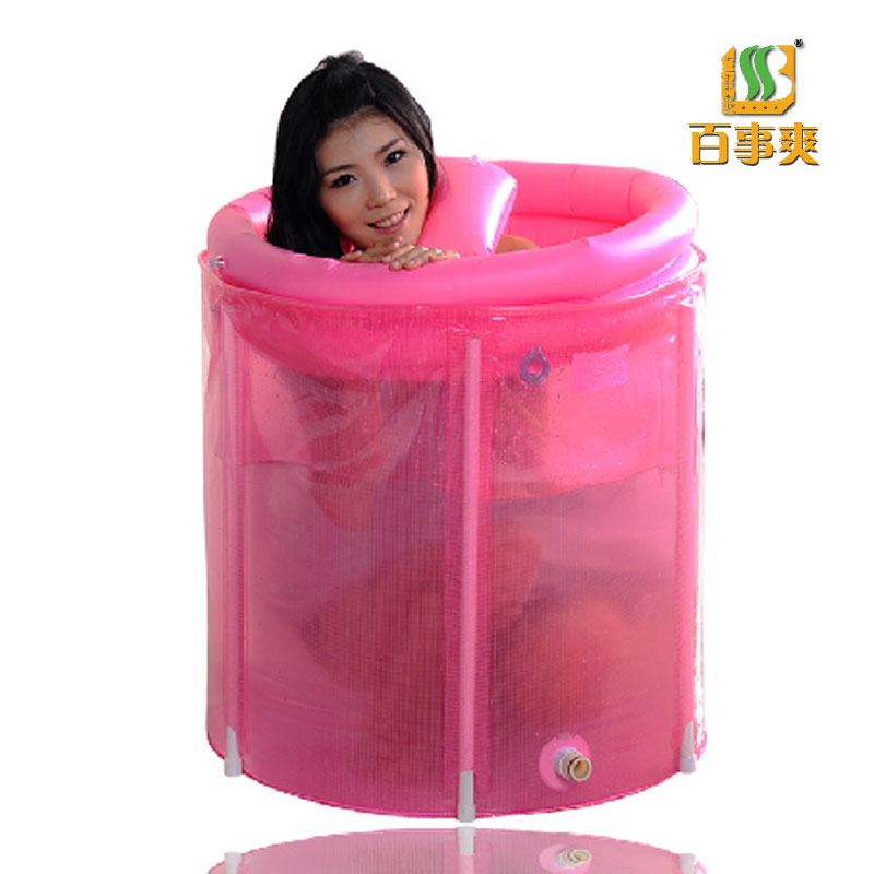 Sponge folding tub bathtub 80x80 cushion pillow bath bucket bath ...