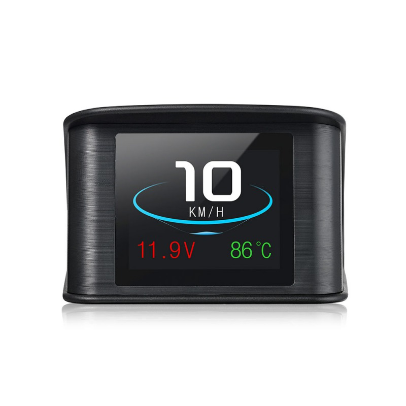 Hud GPS OBD Computer Car Speed Projector Digital Speedometer Display Fuel Consumption Temperature Gauge Diagnostic Tool