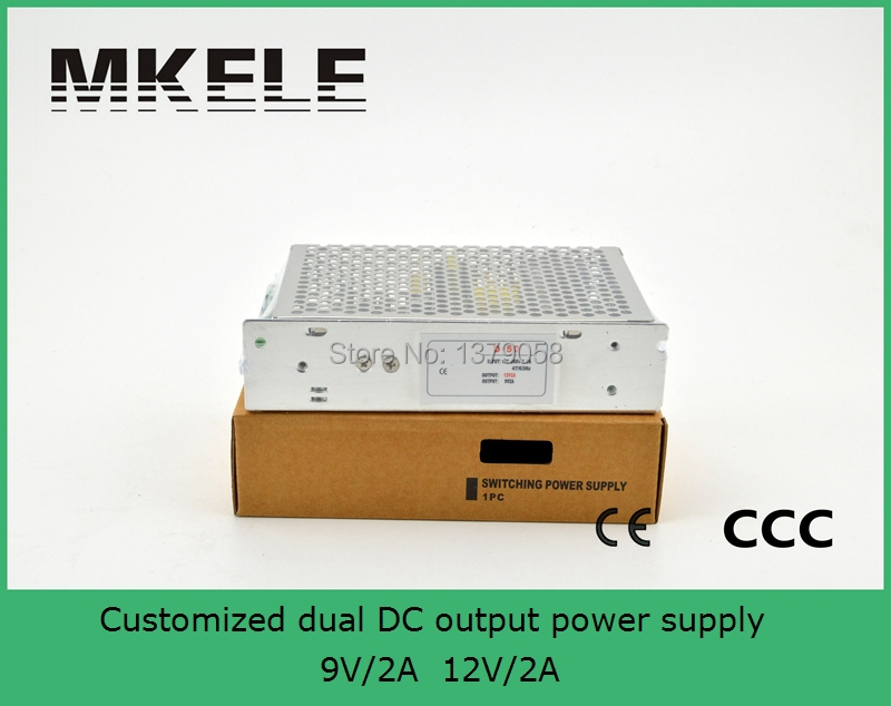 Customized High quality dual Output Switching power supply 12v 2a 9v 2a ac to dc power supply meanwell 12v 350w ul certificated nes series switching power supply 85 264v ac to 12v dc