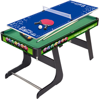 80*42.5*50cm Multifunction Folding Mini Children's Billiard Table/Table Tennis/Ice Hockey Board Game Snooker Sport Entertainment