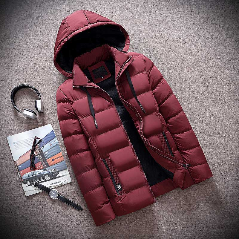 red hoodies jacket
