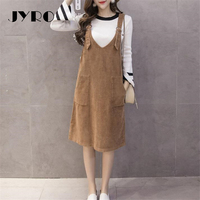 JYRO Brand Mori Women S Dresses New Art Small Fresh Long Loose Large Size Knee Length