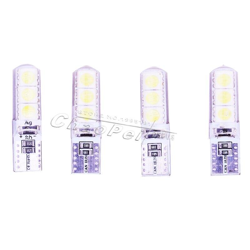 Original de Fábrica de China 4 Unids/lote Nueva Cuña T10 Brillante LED Bombillas