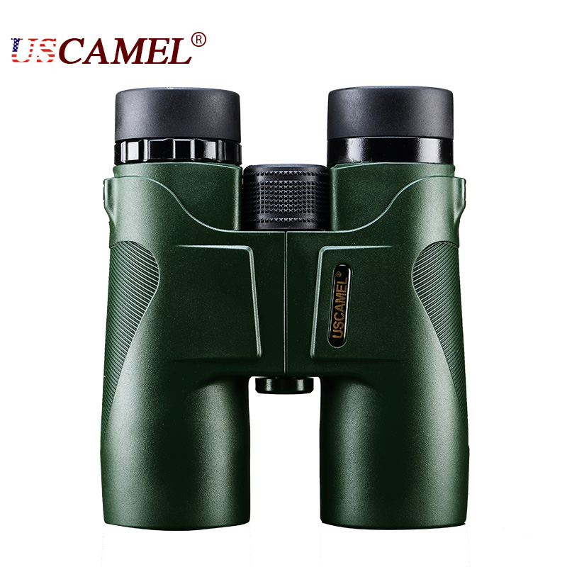 USCAMEL Military HD 10x42 Binoculars Long Range Professional Hunting Telescope wide-angle Zoom Vision No Infrared Eyepiece цена