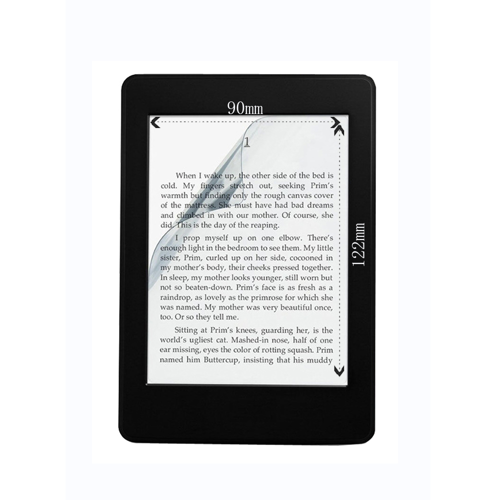2PCS 6'' Soft Screen Protector For 6-inch Ereader Kindle Paperwhite 7th 8th 10th Generation Pocketbook Digma Boox PRT-T3 Ereader