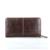 Moda marrón larga cartera hombres hombres de cuero genuino cartera con cremallera embrague carteras tarjeta de crédito titulares de precio en dólares para iphone caso