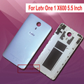 White Gray NEW x600 Back Cover Battery Door Rear Housing Case Cover For Letv One 1 X600 5.5 Inch MTK6795 Helio X10 Smartphone