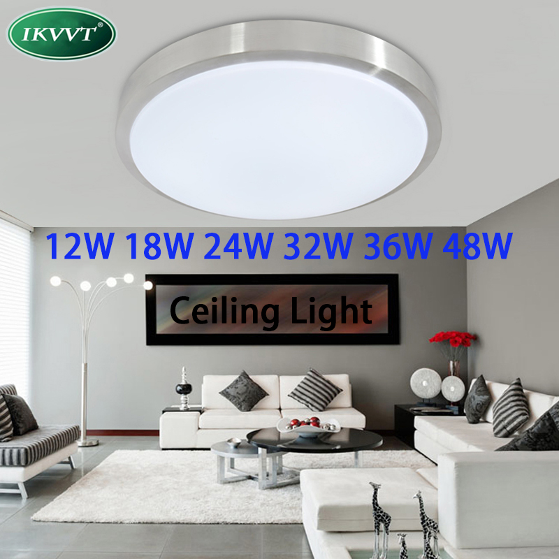 LED Ceiling light 12W18W24W36W lamp Diameter Acrylc panel Aluminum frame edge indoor lighting Bedroom living kitchen LED light