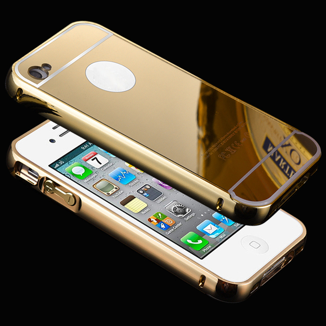 iphone 4 price. phone case for iphone 4 4s metal aluminum bumper frame luxury plating mirror iphone price