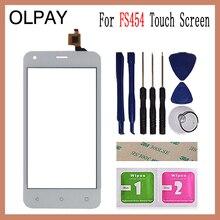 OLPAY 4,5 для Fly FS454 nimbus 8 FS 454, сенсорный экран, дигитайзер, панель, запасные части, сенсорный экран, переднее стекло, объектив, сенсорные инструменты