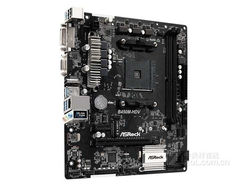 New Asrock B450M-HDV Motherboard 32G DDR4 AMD B450 Socket AM4 VGA HDMI DVI USB2.0 3.0(China)
