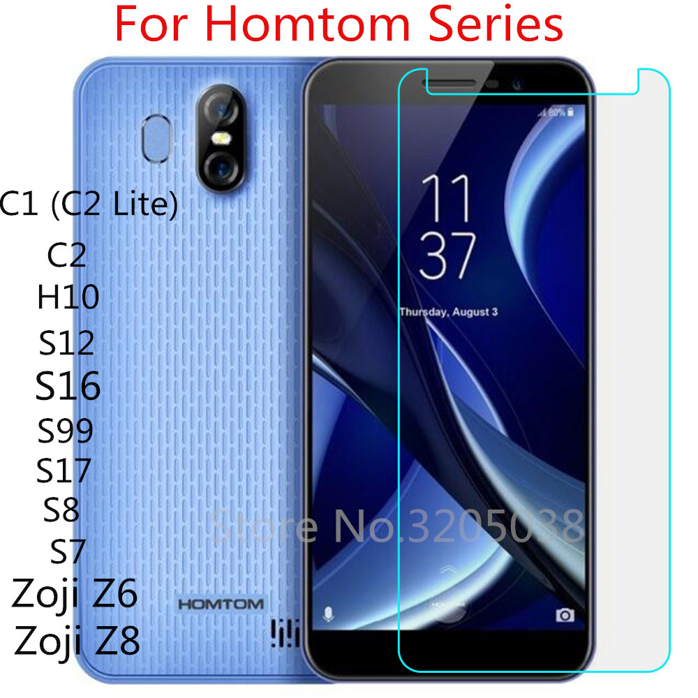 <font><b>HomTom</b></font> Zoji Z6 Z8 Glass Tempered Glass for <font><b>Homtom</b></font> C2 C1 C2 Lite S99 S16 S12 HT10 S7 <font><b>S17</b></font> S8 Screen Protector Film Cover image
