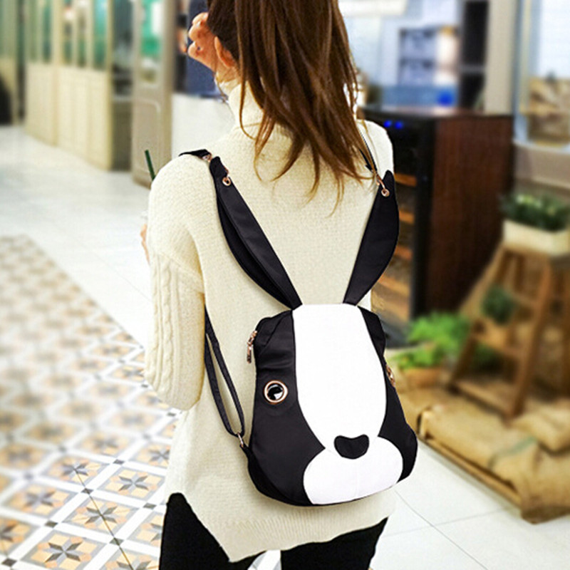 2016 New Fashion Black Backpack Women Casual Woman Backpack School Bags For Teenagers Women Back Pack