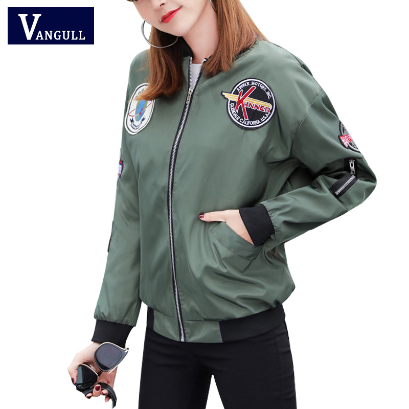 Womens Spring Autumn Casual Jackets Ladies Color Block Pocket Zipper Front Stand Collar Long Sleeve Basic Jacket Coat Outwear