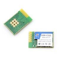 USR-C322b Ücretsiz Kargo CC3200 ile Endüstriyel Düşük Güç Wifi Modülü Seri UART Çip ve Harici Anten