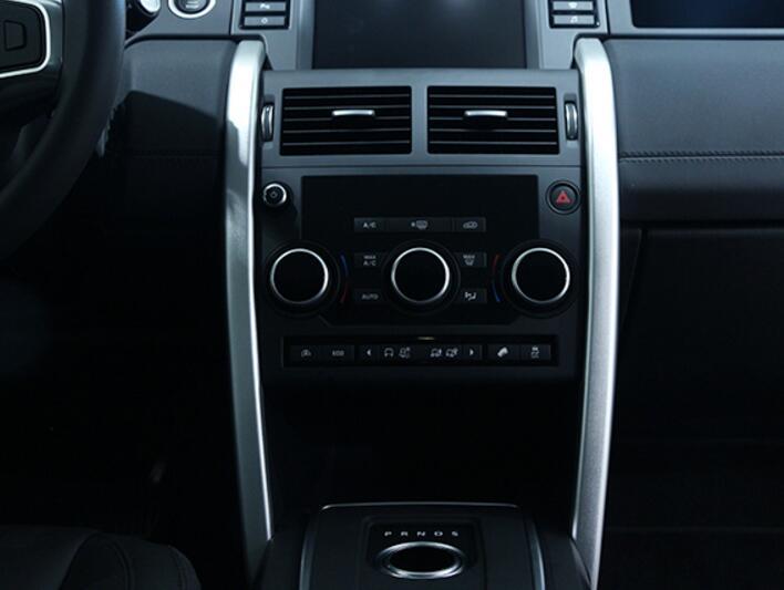Для Land Rover Discovery Спорт 2015 2016 автомобилей Стайлинг алюминиевый сплав центральной консоли отделкой Интимные аксессуары Новые поступления