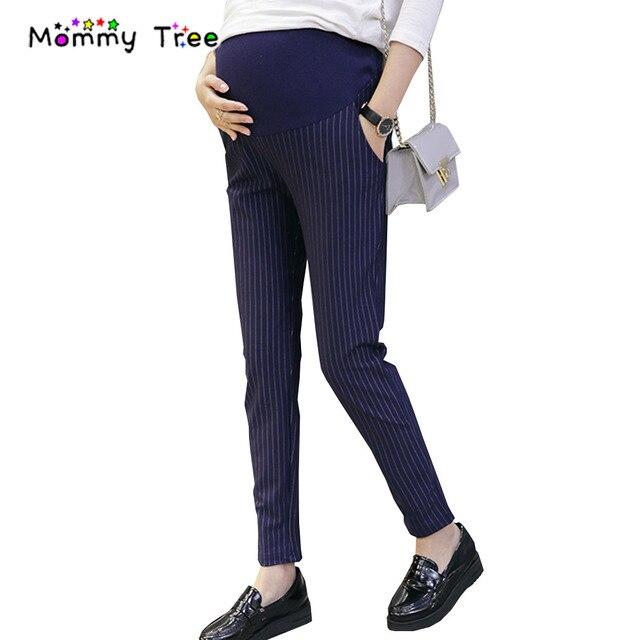 f1aed871e Casual Maternidad Monos Pantalones para mujeres embarazadas Office señoras  embarazo ropa para Primavera Verano 2017 Maternidad