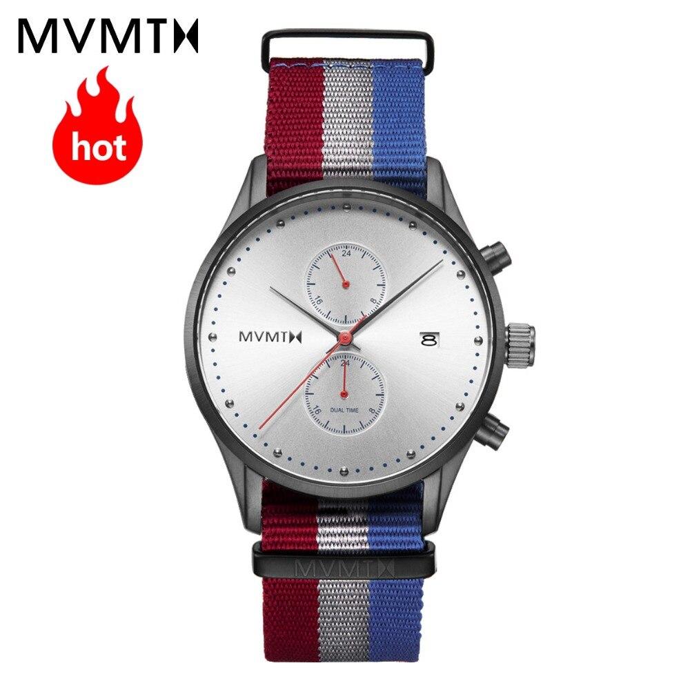 Часы MVMT | Официальные уполномоченные оригинальные Европейский и американский стиль новые модные ретро студенческие мужские часы водонепро...