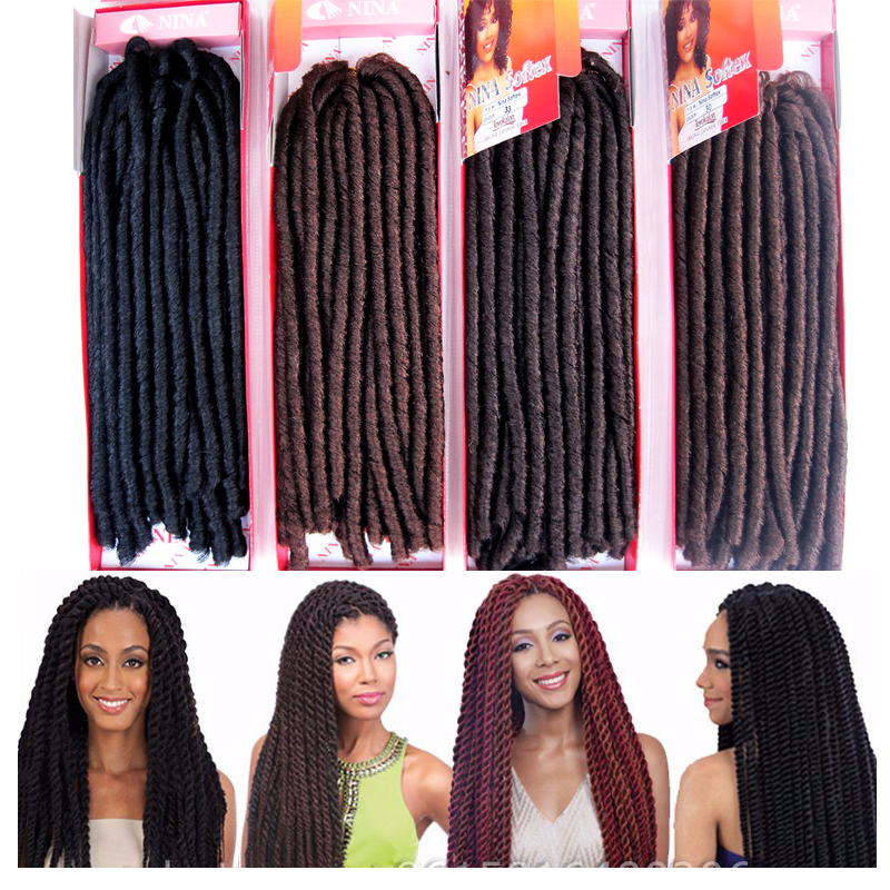 Wholesale 14 3pack Afro Synthetic Hair Extension Afro Kinky 2x