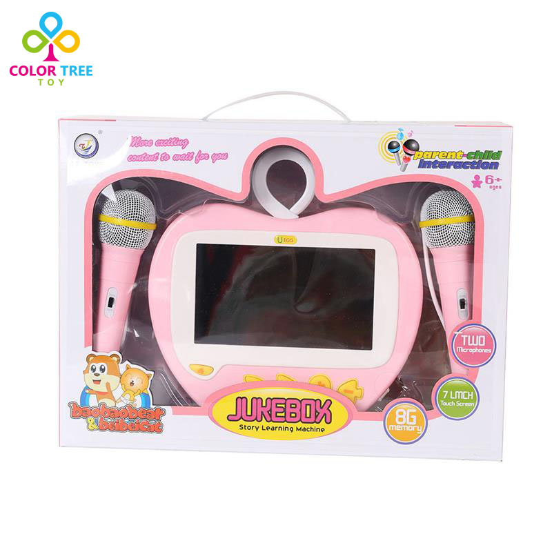 Baby Karaoke Touch Screen Machine Learning Story Funny Toys baby touch busy baby cd