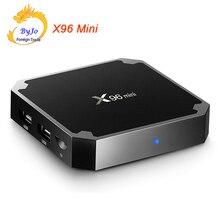 X96 Mini TV Box Android 7 1 2 WIFI 4K HD Smart Set Top BOX 1G