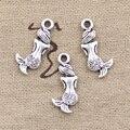 30pcs Charms double sided lovely mermaid 21*10mm Antique pendant fit,Vintage Tibetan Silver,DIY for bracelet necklace