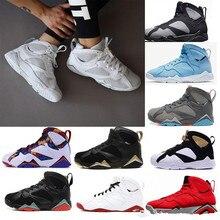 ae57dd8b2348 AJ7 S Men basketball shoes GMP Fadeaway UNC Pantone University Tinker Hares  Bordeaux Cigar Cardinal Sport