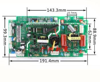 Máquina de soldadura con inversor de doble potencia zx7-250s/315 S Placa de inversor IGBT máquina de soldadura accesorios de placa de circuito superior reemplazem