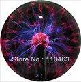 2017 Hot vendas 12voice-activated plasma ball luz roxo bola mágica eletrônica bola de cristal de plasma de íons para o feriado festivo