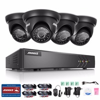 ANNKE 8CH 1080P HDMI Output CCTV Security System DVR 1TB HDD And 4pcs 720P 1500TVL Outdoor