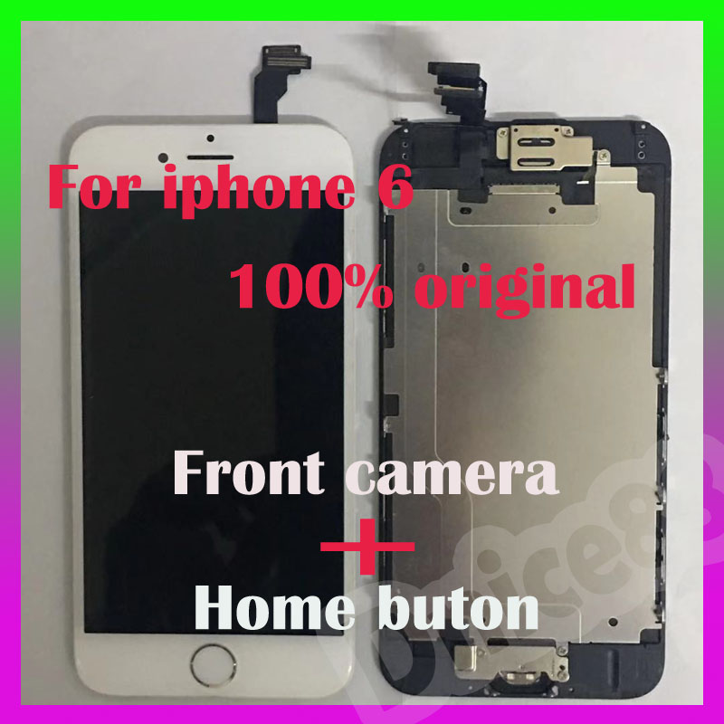 This is for iphone 6 4.7 lcd,it is not only original screen but also brings front camera and home button,good quality display.This is for iphone 6 4.7 lcd,it is not only original screen but also brings front camera and home button,good quality display.