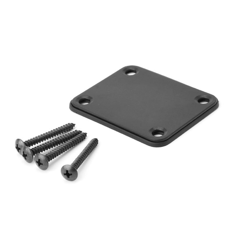 OOTDTY Electric Guitar Neck Plate Fix Tele Telecaster Guitar Neck Joint Board 4 Screws Guitar Accessories in Guitar Parts Accessories from Sports Entertainment