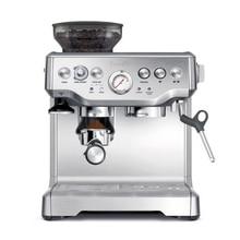 YUNLINLI Espresso Coffee Machine Semi-automatic 15 Bar Pressure Grinder Steam Integrated Coffee Maker BES870 цена