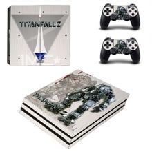 Game Titanfall 2 PS4 Pro Skin Sticker Vinyl Decal