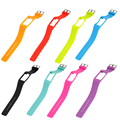 4 colors Soft Replacement Wrist Strap Silicone Band Classic Stainless Steel Buckle For Polar A360 Fitness Tracker