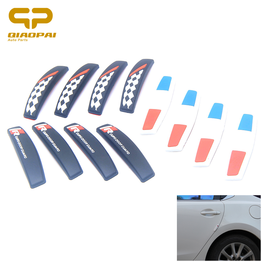 Car Strip Rubber Door Sticker Car Anti Scratch Guard Protector Door Edge GuardsTrim Molding Protection Strip Styling Moulding