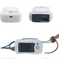 Big Screen VET Veterinary Handheld Pulse Oximeter With Ear / Tongue Clamp Probe Oximetro Heart Rate SPO2 Monitor