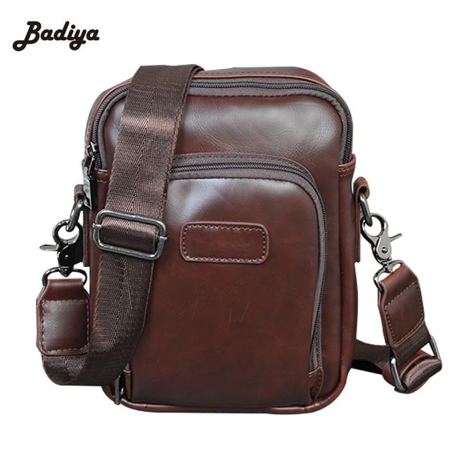 Alta Qualidade bolsa de Viagem bolsa de Ombro Bolsa de Moda PU Sacos do Mensageiro Dos Homens de Couro Homem Carteira de Café Saco de Escritório para o Homem