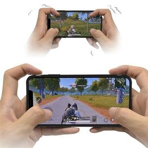Image 1 - Bluetooth 4.0 PUBG משחק נייד טלפון מעטפת עבור iPhone 6/7/8 בתוספת X/XS XR XS מקסימום נבנה ב 180mA סוללה מגן כיסוי מקרה