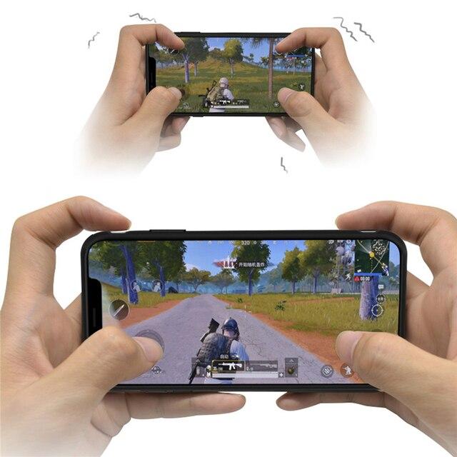 Bluetooth 4.0 PUBG משחק נייד טלפון מעטפת עבור iPhone 6/7/8 בתוספת X/XS XR XS מקסימום נבנה ב 180mA סוללה מגן כיסוי מקרה