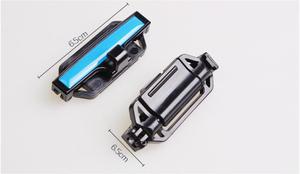 Image 5 - 2 sztuk klips do pasa bezpieczeństwa Seat podkładka pod pas klamra akcesoria samochodowe stoper bezpieczeństwa zaczep do paska regulator napięcia dla Auto 53mm