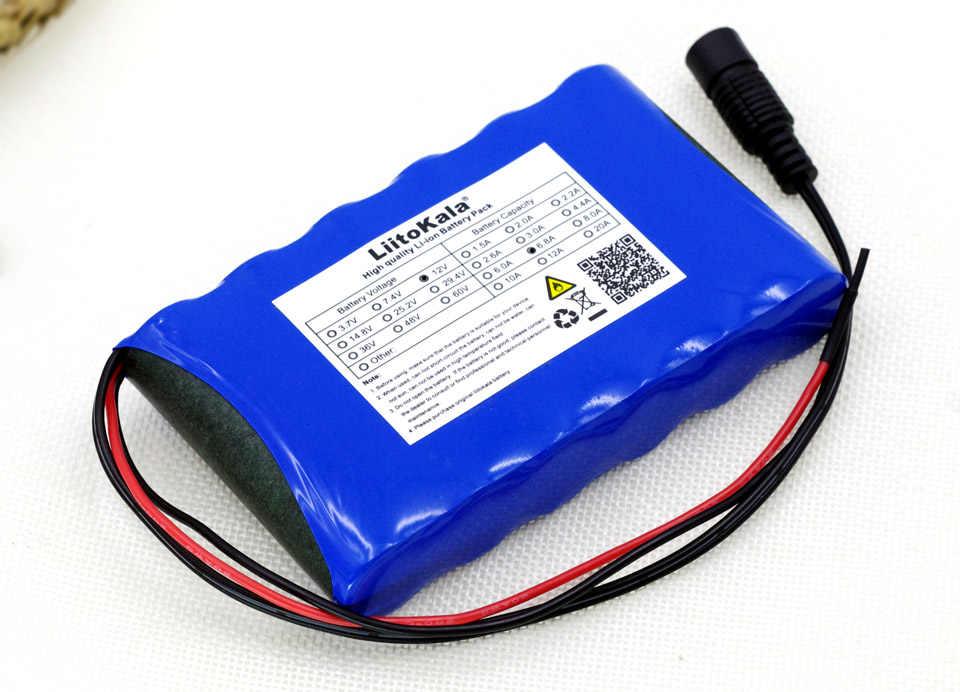 Фото Liitokala 12 В 6 8 Ah 6800 мАч 18650 Перезаряжаемые батареи PCB литиевая Батарея обновления