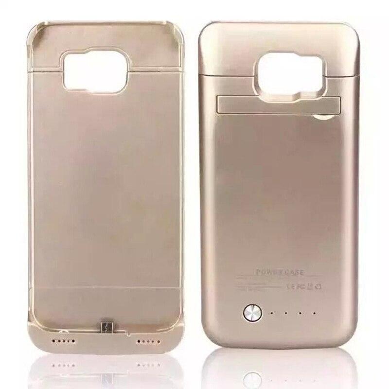 bilder für 4200 mAh Externes Ladegerät Abdeckung für Samsung Galaxy S6 fall tragbare Aushilfsaufladeeinheit 4200 mah Energienbank telefon fall