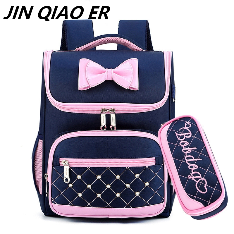 Cute Girls School Bags Children Backpack Primary Bookbag Princess Orthopedics Schoolbags Mochila Infantil Sac A Dos Enfant