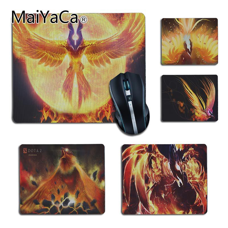 MaiYaCa Top Quality dota 2 Phoenix Office Mice Rubber game gamer Mouse Pad Soft Comfort Mouse Mat gaming Laptop Mice Mats