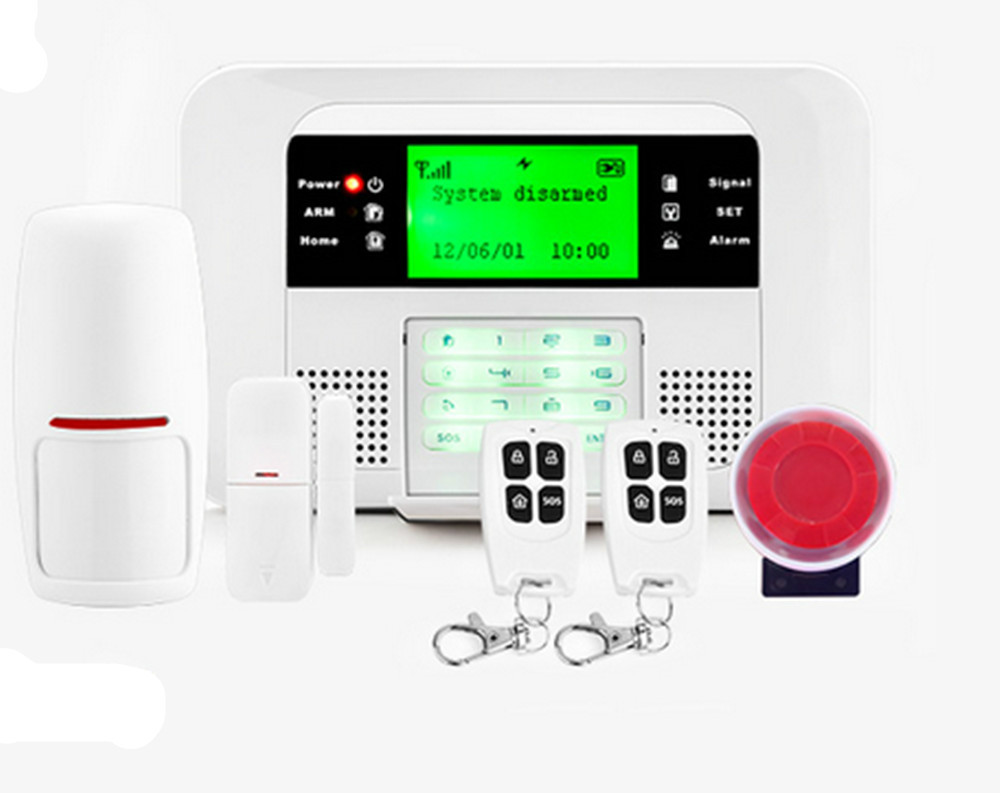 Dual Band GSM + PSTN Alarm System With SOS Function