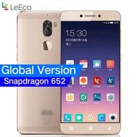 Глобальный Версия Оригинал Leeco Прохладный 1 двойной Letv Coolpad здорово 1 3 ГБ/4 ГБ Оперативная память 32 ГБ Snapdragon 652 мобильный телефон 5,5 13MP двойной
