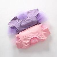 Ballet Dress For Children Gauze Gymnastics Leotard For Girls Kids Gown