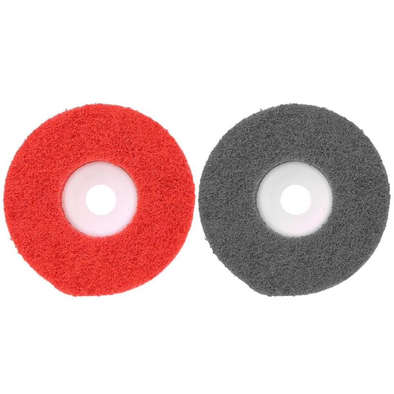 Nylon Fiber Polishing Wheel Non-woven Abrasive Wheel Metal Grinding Disc For Metal/Wood/ Surface Decoration